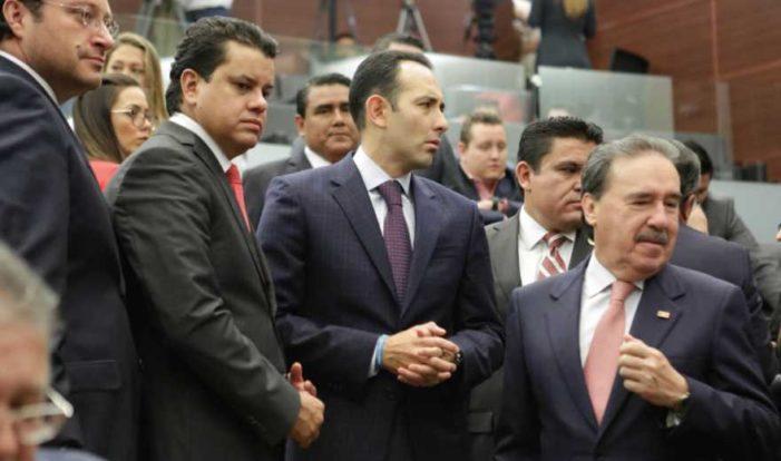 PRI, PAN, PRD y Verde dan carpetazo al proceso de Santiago Nieto y se van de puente
