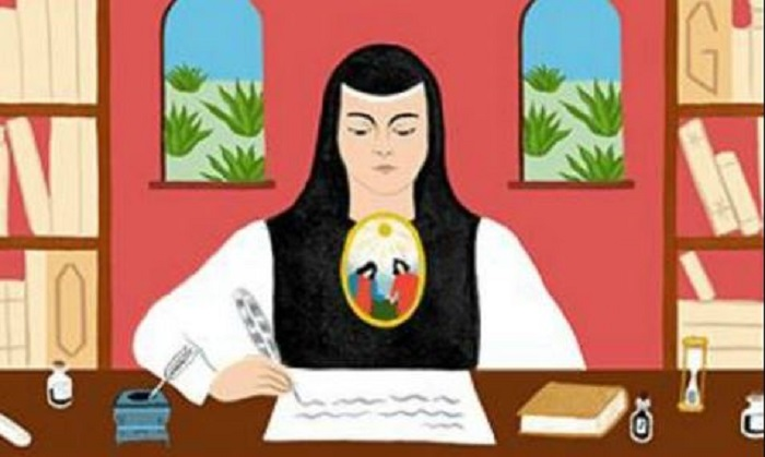 Google homenajea a Sor Juana en su natalicio