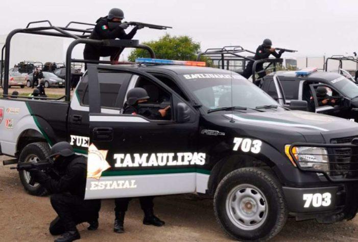 Detienen a 4 policías estatales de Tamaulipas por asociación delictuosa y extorsión