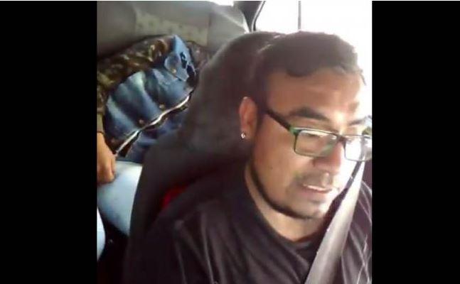 Taxista que grabó a joven ebria en Puebla se disculpa, su fin era hacer conciencia