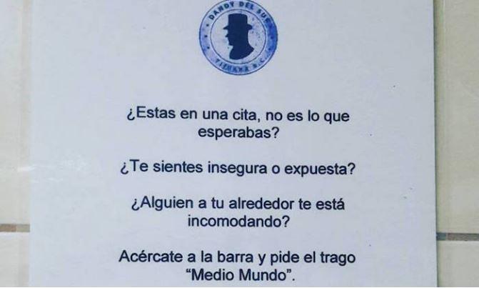 Bar de Tijuana ofrece trago 'medio mundo' para frenar acoso que sufren mujeres