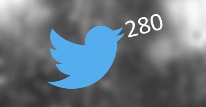 Twitter autoriza 280 caracteres para todos los usuarios, así reaccionan en redes