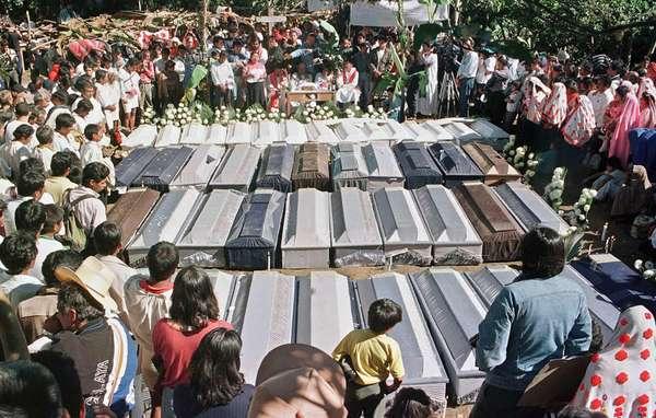 A 20 años de la masacre de Acteal perdura la impunidad