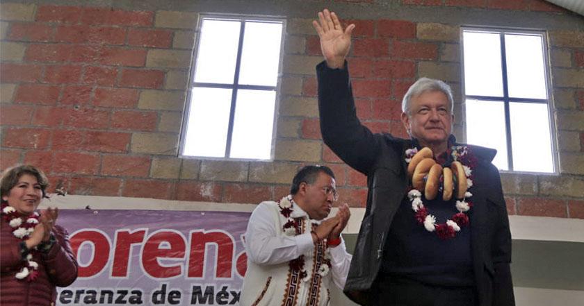 AMLO se registra como precandidato a la Presidencia por el PES