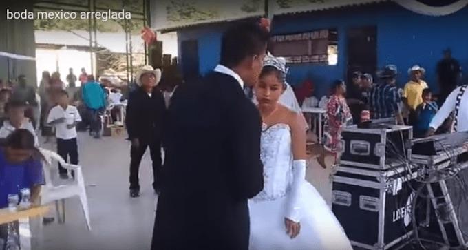 'La boda más triste', se viraliza video de boda arreglada
