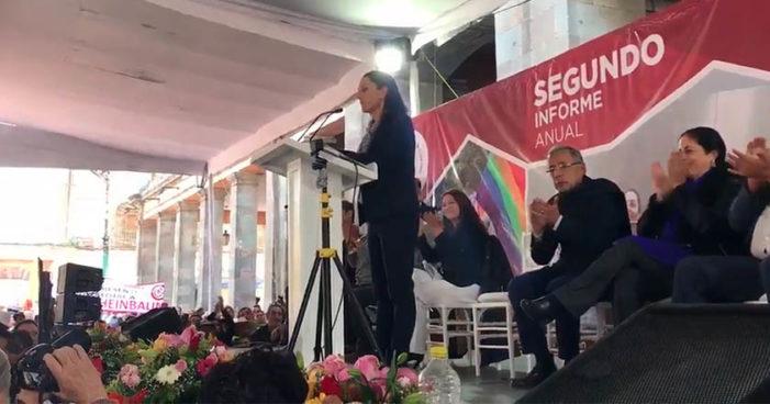 Sheinbaum pedirá licencia como Delegada de Tlalpan para registrar precandidatura