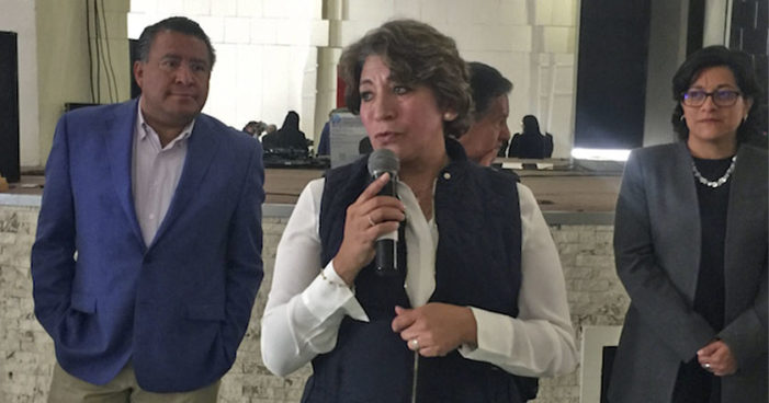 'A Del Mazo no le interesa resolver feminicidios': Delfina Gómez