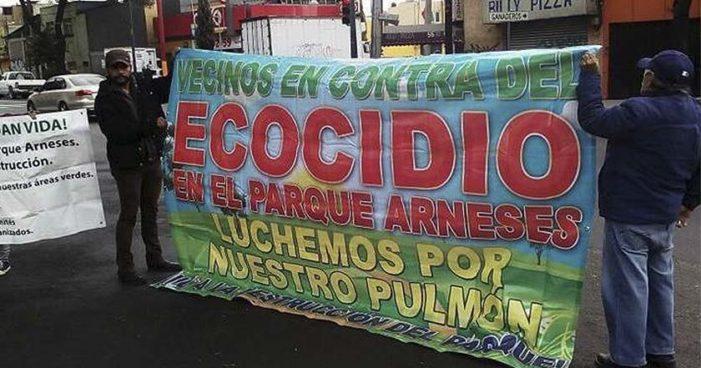 Iztapalapa: Vecinos se organizan contra destrucción de Parque Arneses por estación de MB