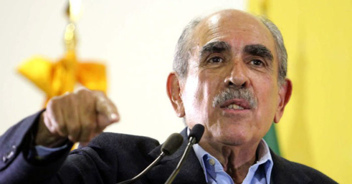 Renuncia Pablo Gómez al PRD, 'AMLO, único candidato de izquierda'
