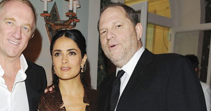 Salma Hayek denuncia a Harvey Weinstein en el NYT por acoso y amenazas