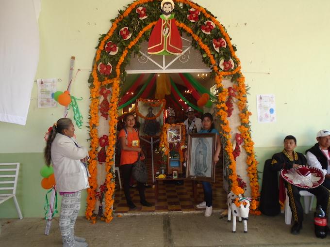San Andrés, el santo que se convierte en maíz