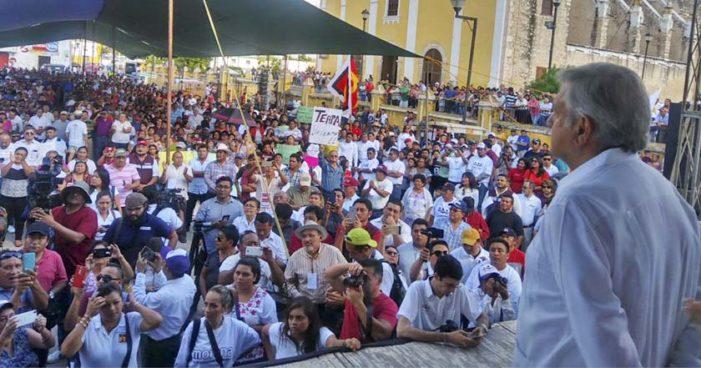 'Se detendrán todos los afanes privatizadores en 2018 con Morena': AMLO