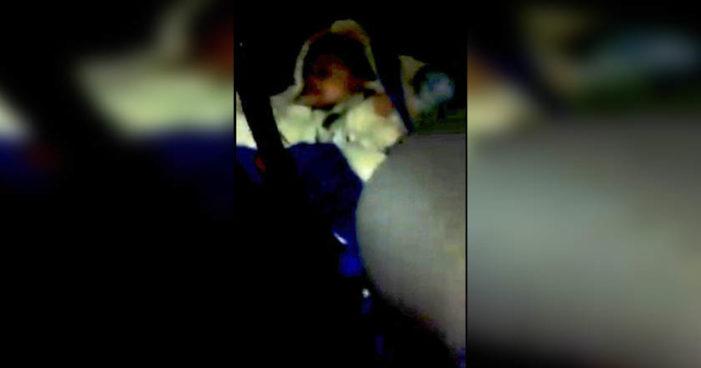 Se les olvida un bebé en el Uber (Video)
