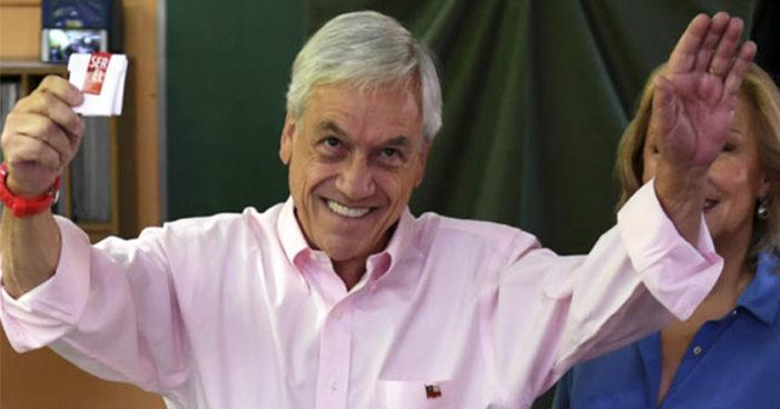 Sebastián Piñera gana las elecciones presidenciales de Chile