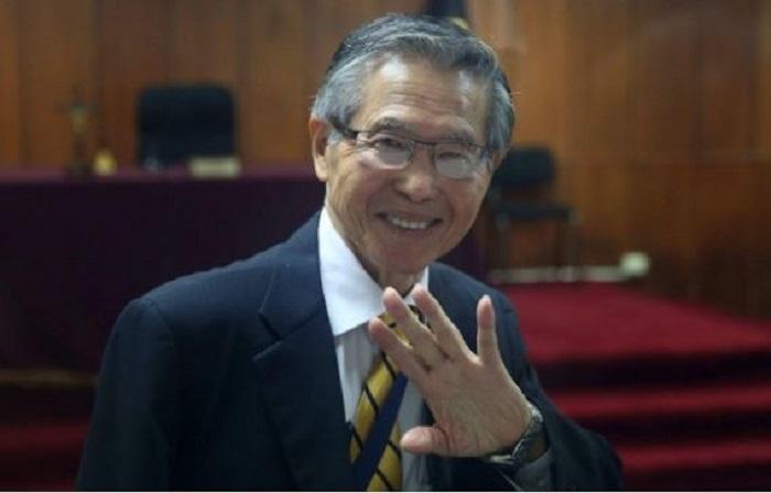 Perú libera a Alberto Fujimori