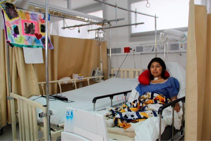 Sale del hospital última sobreviviente del 19-S