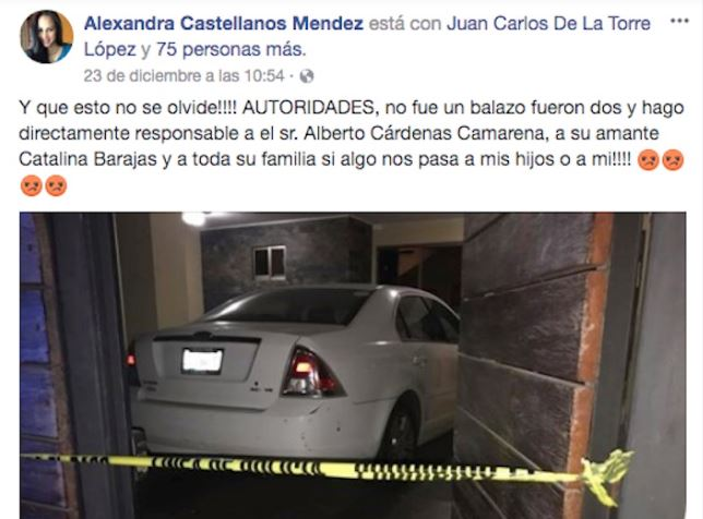 Alexandra denunció amenazas, las autoridades no actuaron y ahora está muerta