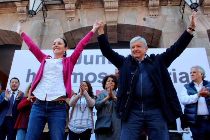 Sheinbaum y coalición Morena-PT-PES aventajan hasta 20 puntos al PRD: El Universal