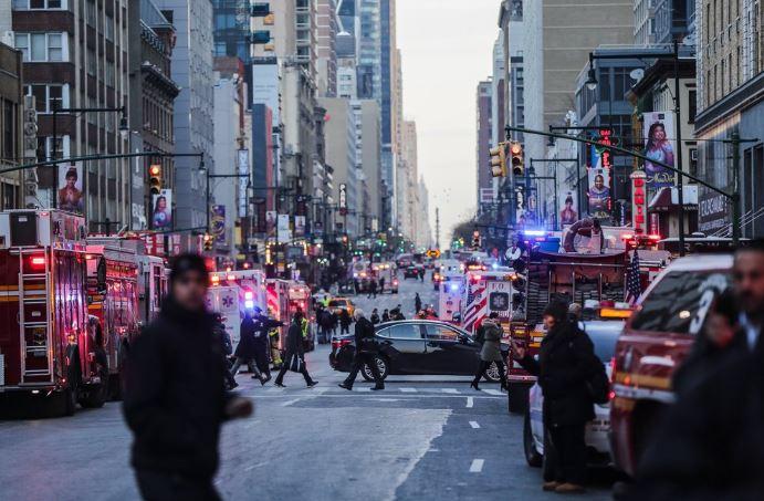 Explosión en Time Square fue un ataque terrorista, hay un detenido