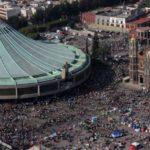 Luego de la celebración, dejan 1270 toneladas de basura en la Basílica