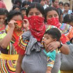 Más de 2 mil menores han sido desplazados por violencia paramilitar en Chiapas