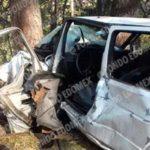 Conductor abandona a copiloto muerto tras choque