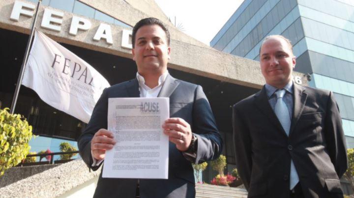 Presenta PAN denuncia contra PRI por triangulación de dinero a campañas