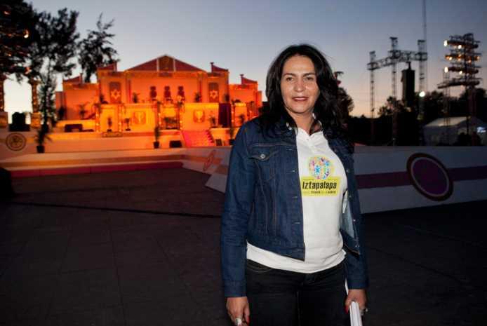 Vuelve a la polémica la delegada de Iztapalapa
