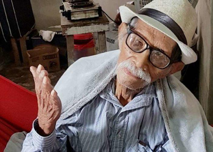 Fallece Don Jesús Castillo, el hombre más longevo de México