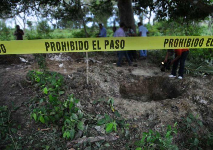 En siete años se han hallado 553 cuerpos en 310 fosas clandestinas en Veracruz