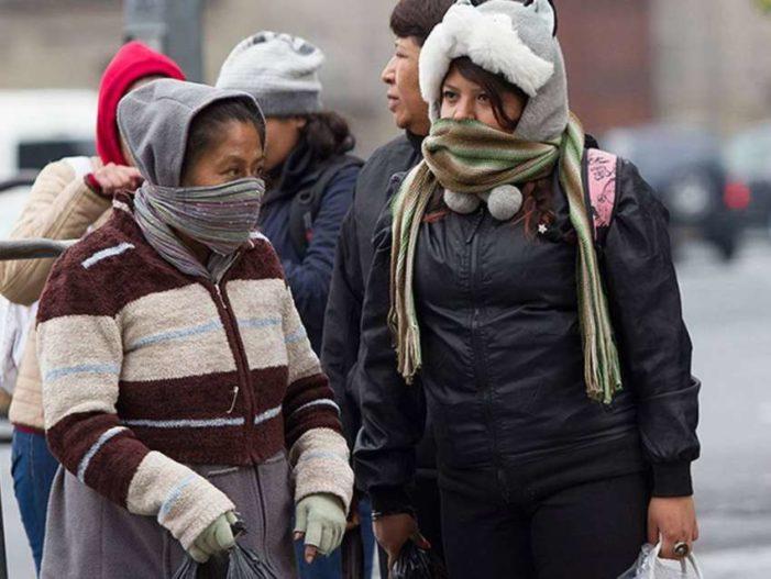 Pronostican temperaturas inferiores a los -5 grados en el norte del país