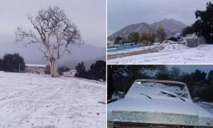 En Zacatecas se registran temperaturas de 15 grados bajo cero, es histórico