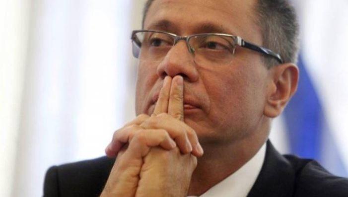 Vicepresidente de Ecuador irá a prisión por el caso Odebrecht