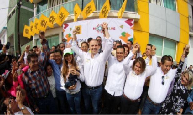 El hijastro de Graco Ramírez va por gubernatura de Morelos