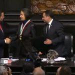 Julia Carabias recibió la Belisario Domínguez en el Senado y pidió revisar la Ley de Seguridad Interior