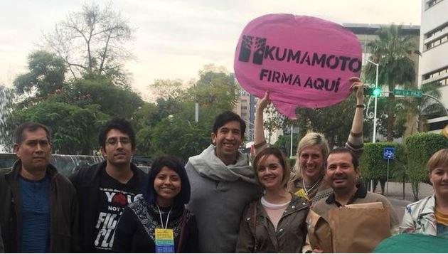 Para financiar su campaña, Kumamoto venderá productos con su imagen