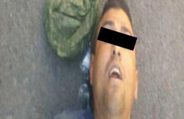Pretendía robar a taxista en Tláhuac, pero conductor le avienta el carro y lo lesiona