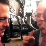 Sansores increpa a Peña Nieto en el Senado: 'la lista negra la encabeza usted', le dice.