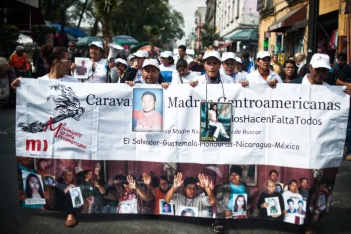 Arriba a México Caravana de Madres Centroamericanas en busca de sus desaparecidos