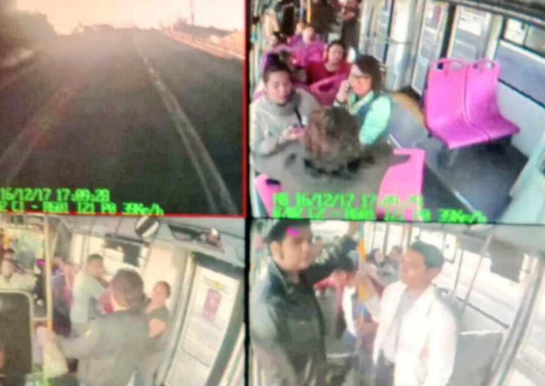 Sujetos armados abordan Metrobús y asaltan a pasajeros