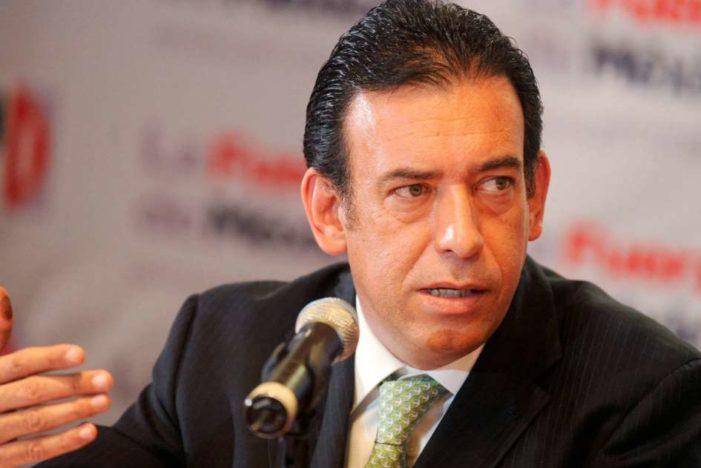 Moreira sigue dentro del PRI, TEPJF revocó su expulsión