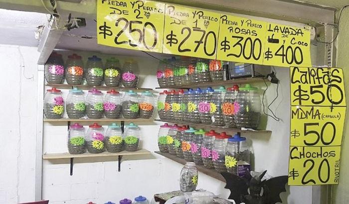 Vendían drogas como si fueran dulces en Tepito