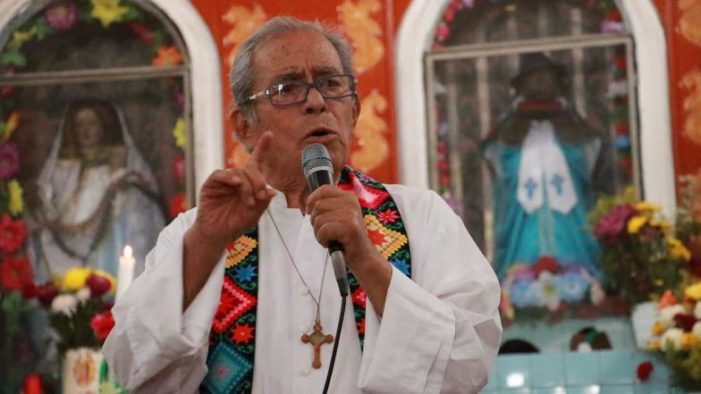 'Morena es la esperanza para México frente al desastre': Obispo emérito de Oaxaca