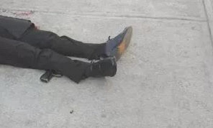Policía sacó su arma y se suicidó en plena calle, en Navidad
