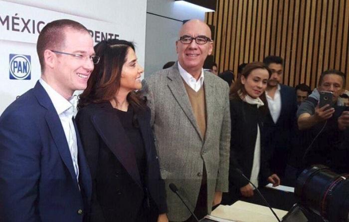 Se registra la coalición PAN, PRD y MC, Por México al Frente, se llama