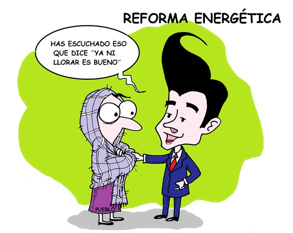 ¿Reforma energética? ¡Contrarreforma!