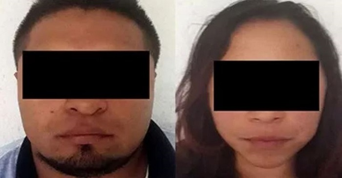 Sorprenden a pareja de secuestradores mientras transportaban a una víctimas en Naucalpan
