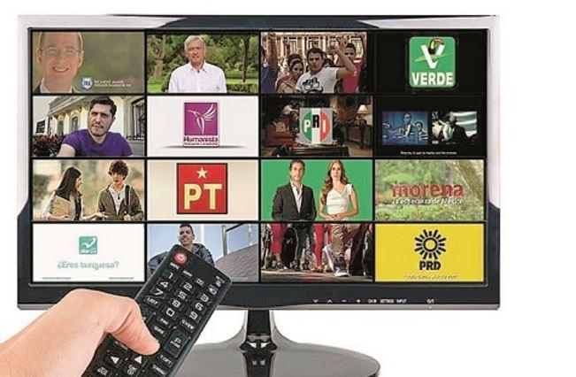 Este jueves empieza el ataque de spots políticos, el INE programará  497 mil 760 horas