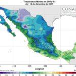 Por tercera tormenta invernal, se pronostican nevadas en siete estados: SMN