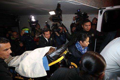 Elba Esther Gordillo sale de clínica, la trasladan a su departamento en Polanco